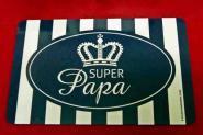 """GILDE Frühstücksbrettchen """"Super Papa"""""""