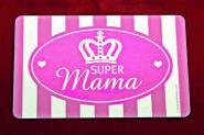 """GILDE Frühstücksbrettchen """"Super Mama"""""""