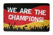 "GILDE Frühstücksbrettchen ""We are the Champions"""