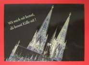 "Postkarte ""Wä mich nit kennt"""