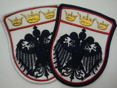 Aufnäher Adler + 3 Kronen