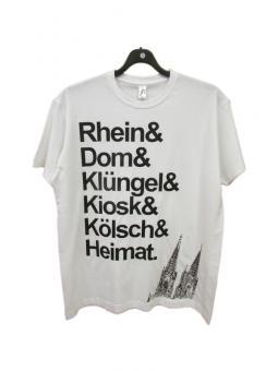 """T-Shirt """"Rhein & Dom"""""""