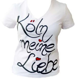 Köln meine Liebe / Schrift