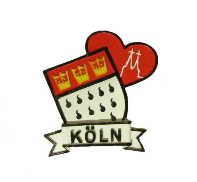 "Magnet ""Kölner Wappen"""