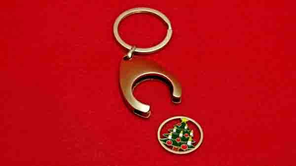Schlüsselanhänger Tannenbaum