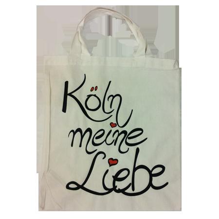 """Baumwolltasche """"Köln meine Liebe"""""""